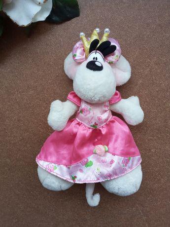 Мышь мышка Диддл в платье Мягкая игрушка