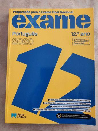 Livro para o Exame Nacional de Português 2020