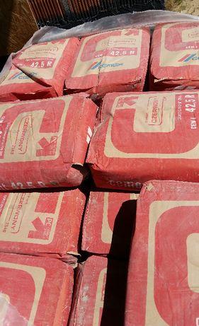 Cement czerwony portlandzki CEMEX 1-a tona w workach po 25kg