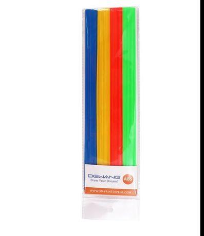 Филамент для 3д 3d ручки разноцветный набор 10м заправка