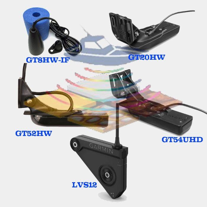 Датчики эхолотов Garmin GT8 GT20 GT52 GT54 lvs12.Transducer Striker Киев - изображение 1