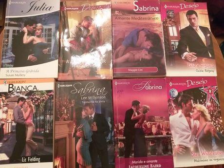 Livros Harlequin- Sabrina, Bianca, Desejo,etc