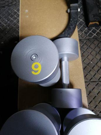 Hantle stalowe 2x9kg