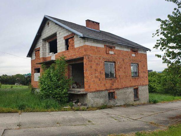 sprzedam dom w stanie surowym  w Turzy koło Gorlic