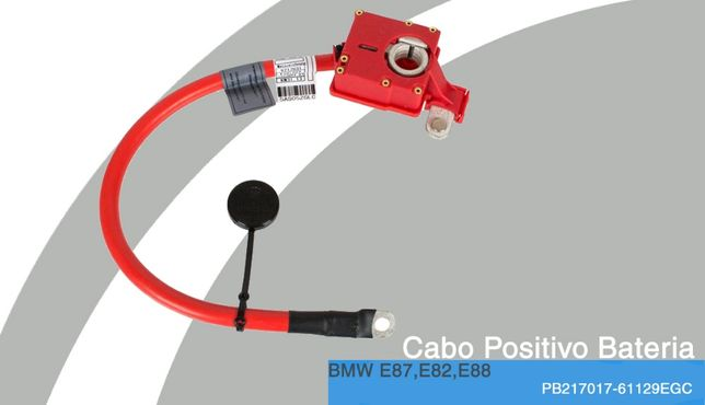 Cabo Positivo Bateria NOVO p/BMW E87,E82,E88,E81
