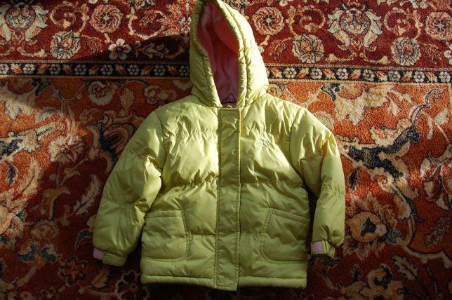 kurtka zimowa ciepła, rozm. 98