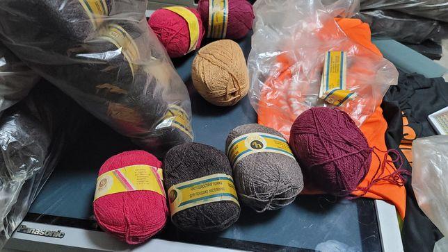 ЧистоШерстяные (95%) нитки для вязания