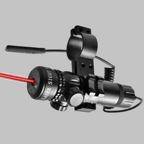 04114 Laser czerwony RED DOT na broń na lunetę 11 mm Nowy WYSYŁKA