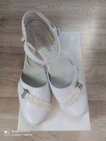 Buty komunijne dziewczęce roz 35