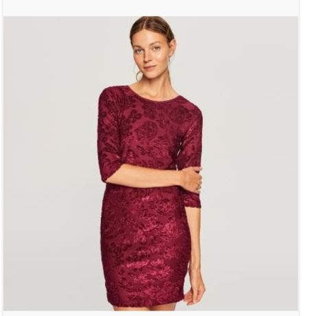 Nowa sukienka Reserved bordo