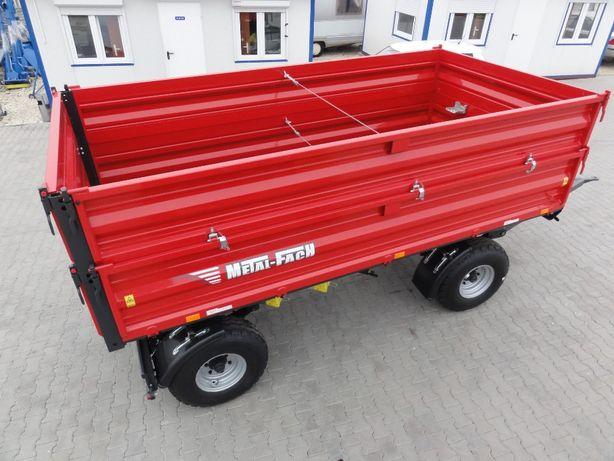 OD RĘKI Przyczepa Metal Fach T710/1 6t Transport! Nie T653/2 Pronar