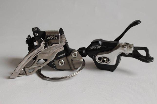 Перекидка XTR FD-M985-E и манетка XTR SL-M980 2/3ск