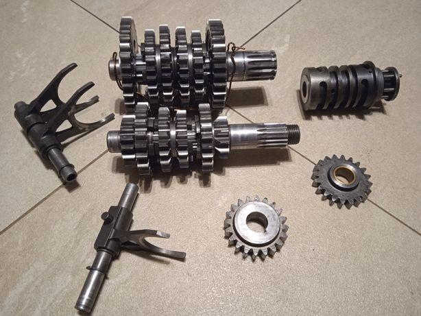 Skrzynia biegów ktm sx 125 gs tryb wodzik wałek programator