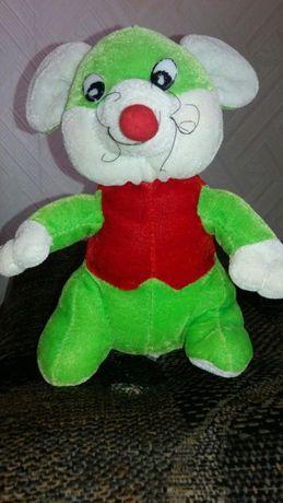 Мягкая игрушка мышка, медвеженок