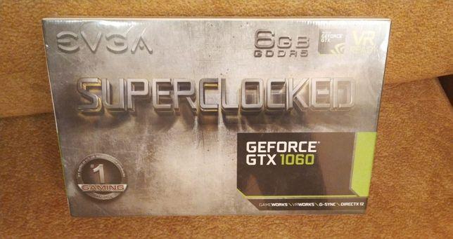 Видеокарта EVGA GeForce GTX 1060 SC GAMING 6GB (06G-P4-6163-KR)