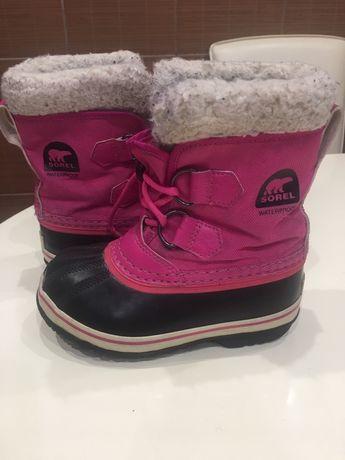Sorel зимние ботинки 27 р-р