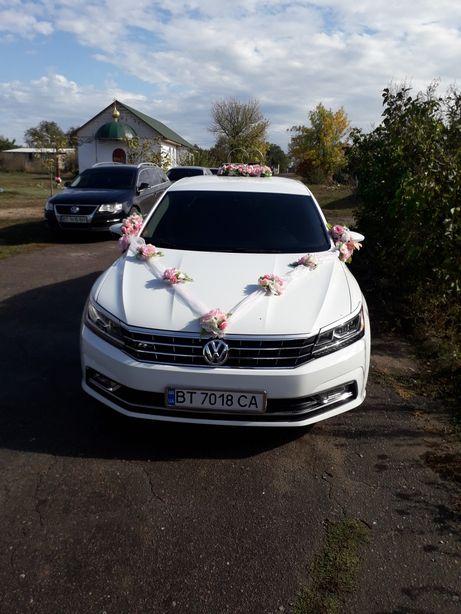 Авто на свадьбу !!! VW Passat B 8