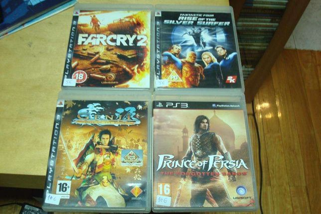 lote 6 jogos ps3 ,genji days of the blade ,dark sector etc