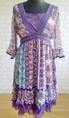 Sukienka boho romantyczna M/L Love Paris