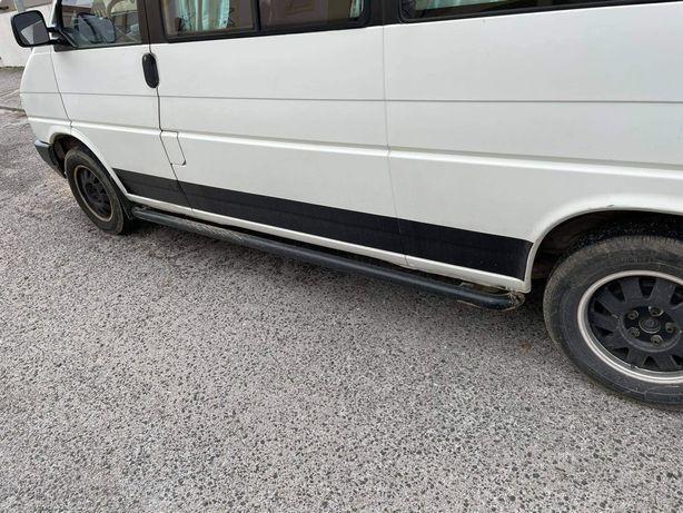 Estribos Vw Transporter T4 versão longa