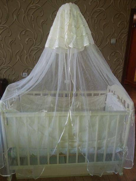 Кроватка маятник Napoleon new ваниль
