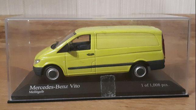 Масштабная модель 1/43 Mercedes-Benz Vito 109 CDI (W639) от Minichamps