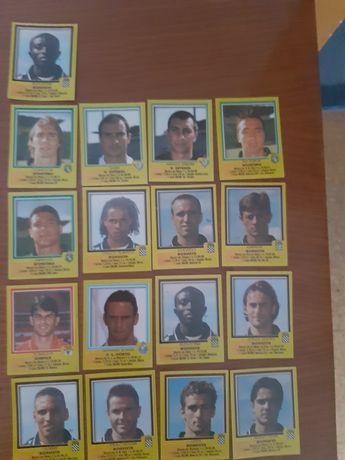 Cromos de futebol da 1-liga 99/00