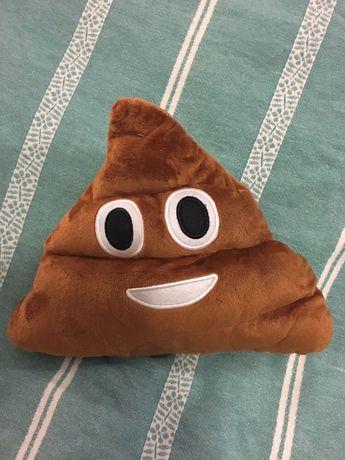 Подушка какашка игрушка мягкая какаха эмоджи emoji маленькая большая