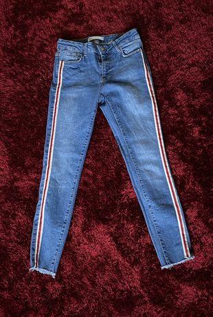 spodnie z paskami