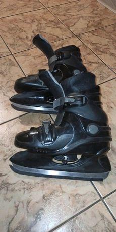 Łyżwy hokejówki czarne