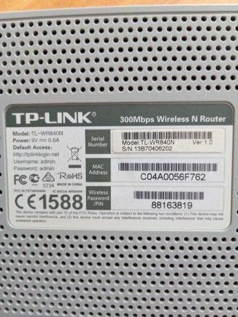 Router TP-LINK TL WR840N