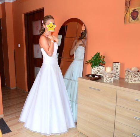 Sprzedam Suknie Ślubną plus gratisy (dadatki) dla Pana Młodego