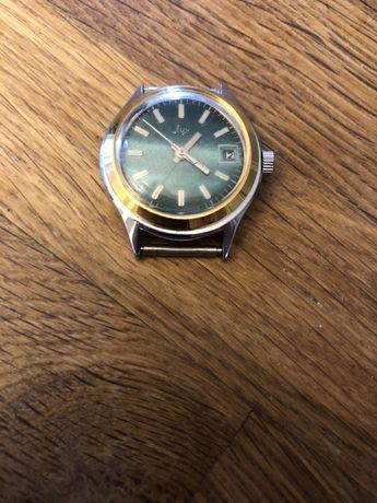 Piekny stary zegarek mechaniczny ŁUCZ