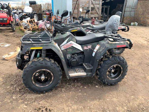 Квадроцикл Hisun 400 - 2021 г. поставка. Документы для регистрации