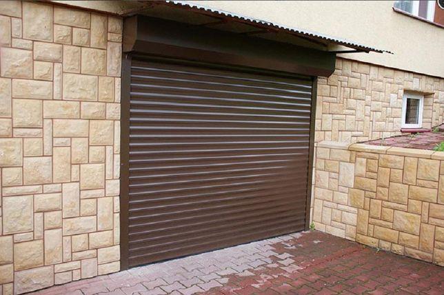 Brama garażowa rolowana dowolny wymiar