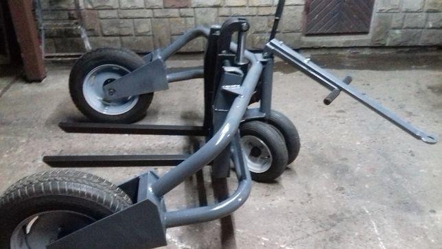 Wózek transportowy CAMAC do kostki brukowej i palet 1500 kg
