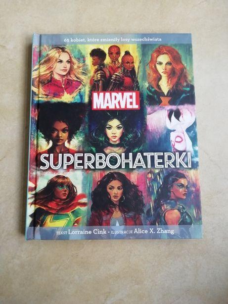 Album Marvel Superbohaterki - książka nowa
