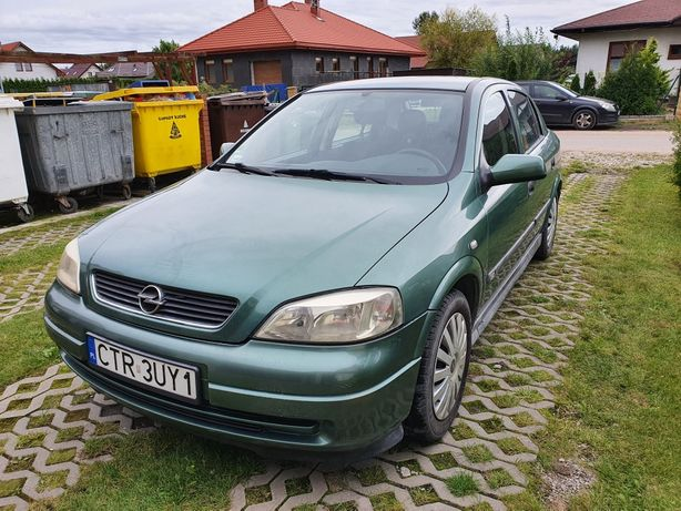 Opel Astra G 1.8 benzyna 16V 115 KM
