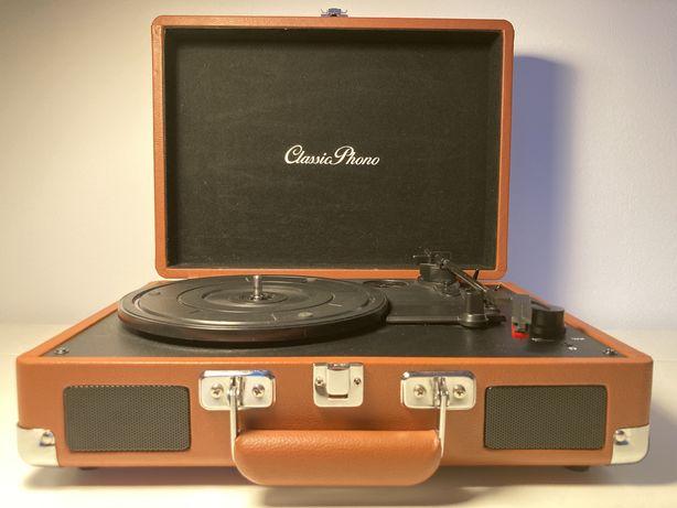 Gramofon Vintage walizka