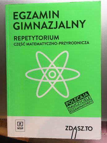 Repetytorium część matematyczno-przyrodnicza, fizyka, chemia, ZDASZ.TO