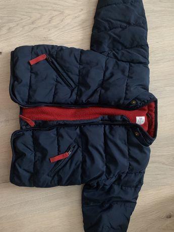 Теплая куртка весна осень h&m размер 6-9 мес