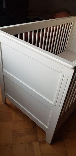 Vox, Łóżeczko dziecięce, dla niemowlaka, 140x70 cm Jasmine krem