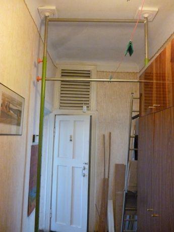 Спортивная стенка (турник, лестница метал. и веревочная, качели и пр.)
