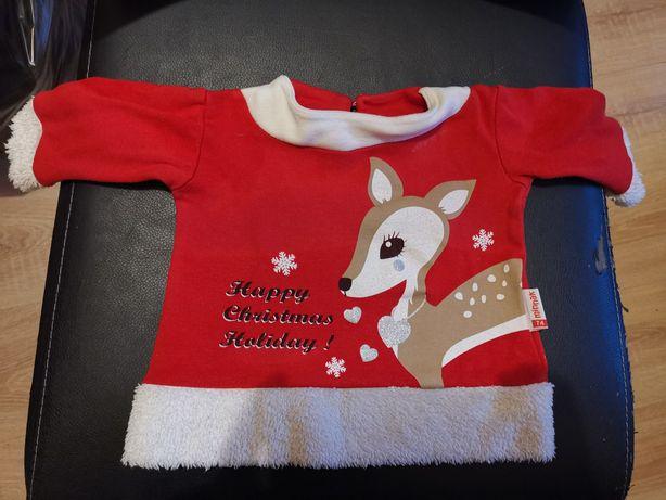 Bluzeczka świąteczna