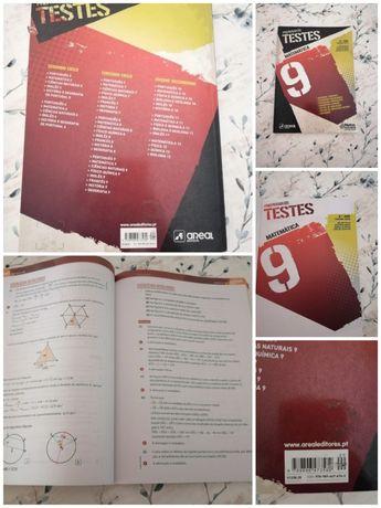 Livros Preparar os Testes de Matemática 9° ano
