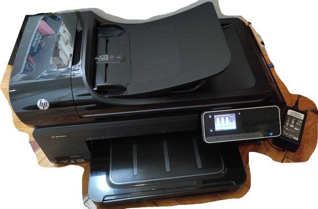 Impressora A3 HP Officejet 7500A E910A WIFI + tinteiros novos 920XL