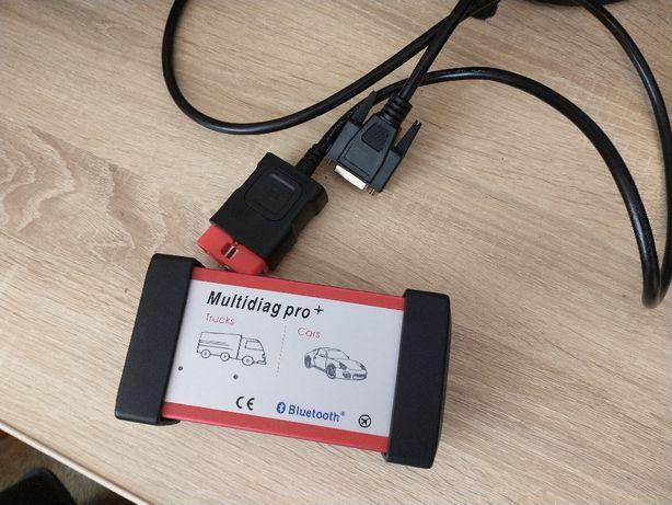 Multidiag Pro+ + LAPTOP + Torba Zestaw dla mechanika!
