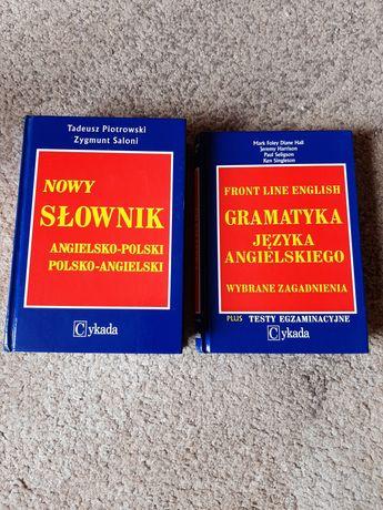 Słownik angielski, niemiecki