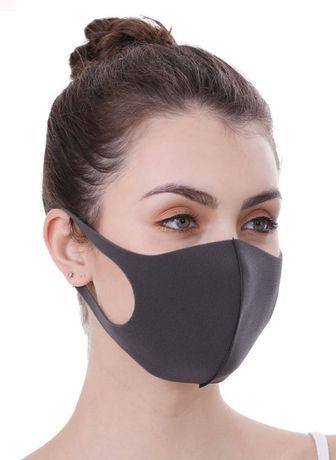( 3 МАСКИ ) Многоразовые маски Питта/Pitta mask. Не неопрен