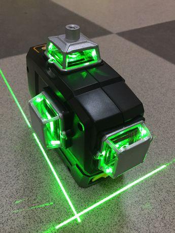 Лазерний рівень Deko 3D 12 ліній, лазерный уровень